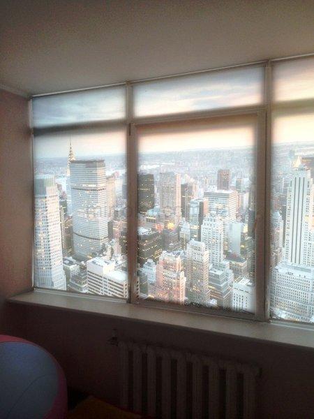 Фотопечать-панорама города