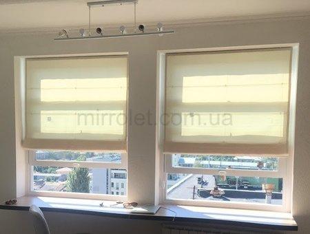 римские шторы_ткань клиента