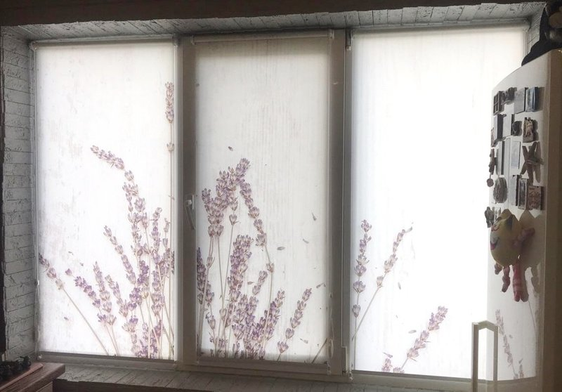 рулонные шторы с фотопечатью фото