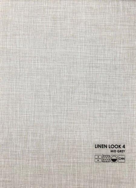 Linen look cерый