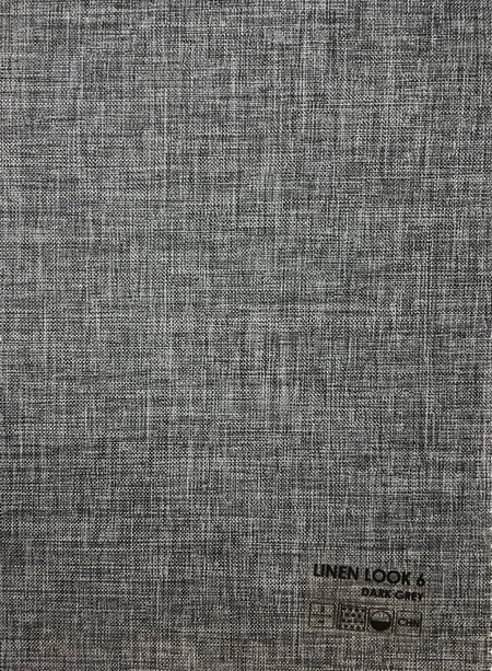 Linen look графит