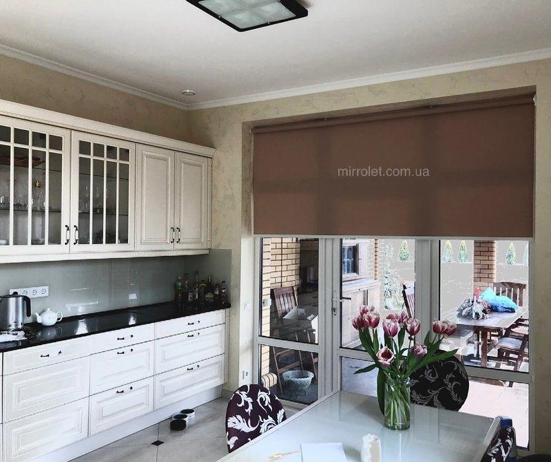 шторы в частный дом